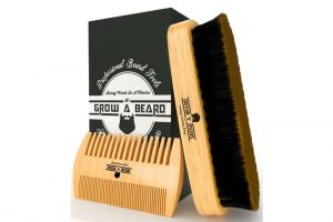 Grow A Beard – Beard Brush and Comb Set for Men Review