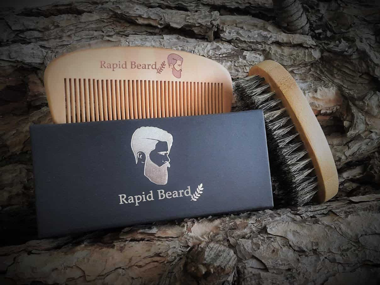 Rapid Beard Brush and Comb Kit  Review
