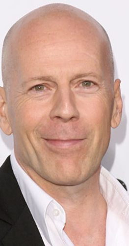Bruce Willis No Beard