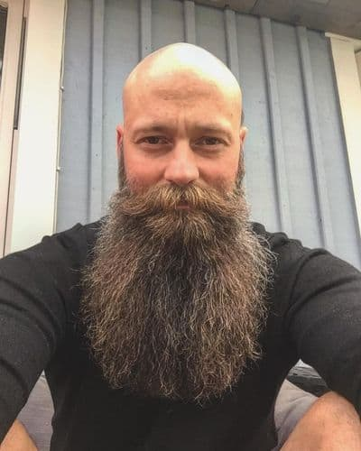 Bald with Yeard