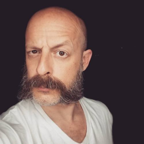 Bald With Mutton Chops